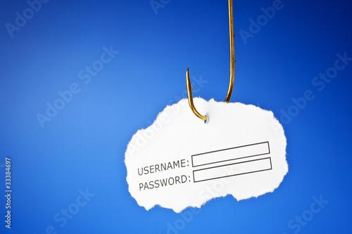 Fotografía  Phishing concept