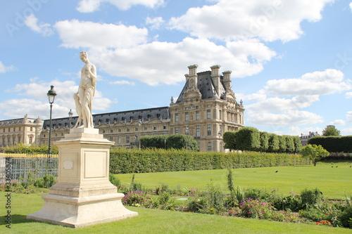 Fotografia Jardins des Tuileries (Paris Louvre)