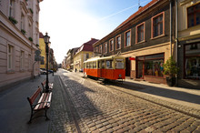 View On The Alley In Bydgoszcz, Poland