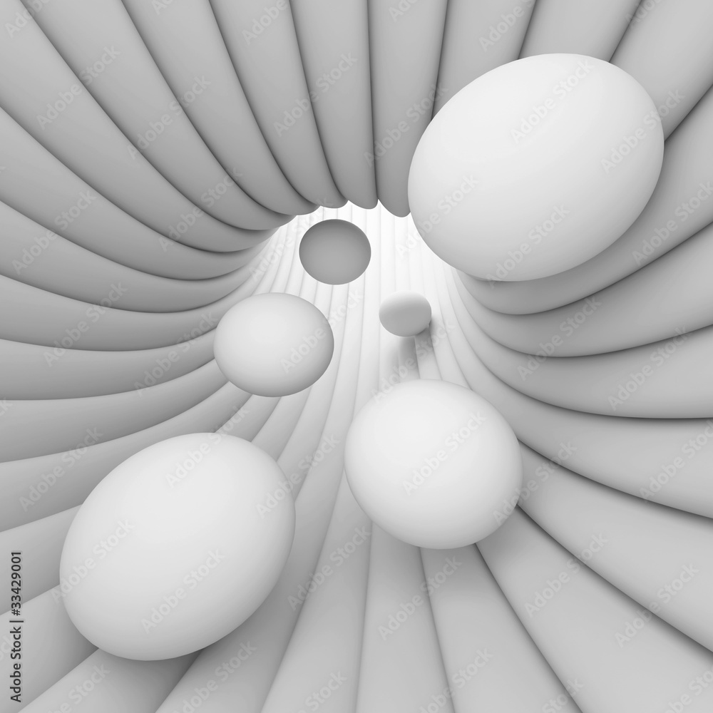 Fototapeta White Abstract Background