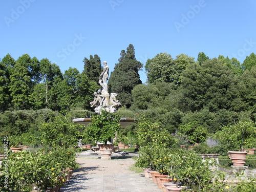 Florence Jardin De Boboli Buy This Stock Photo And Explore