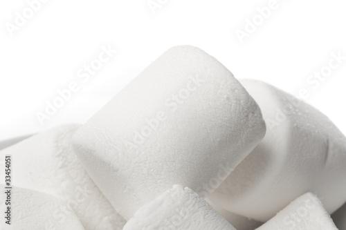 Fototapeta A large white marshmallow obraz