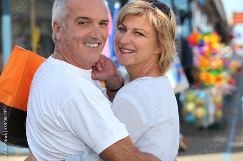 Valokuva  middle-aged couple