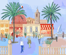 City On The French Riviera