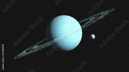 Planet  3D Canvas-taulu