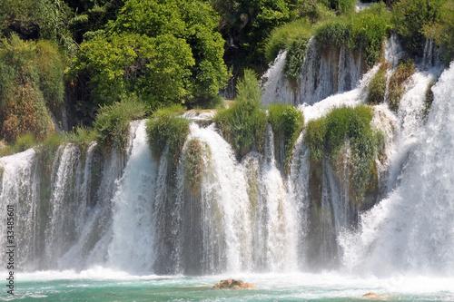 Recess Fitting Waterfalls Kroatien - 004 - Krka