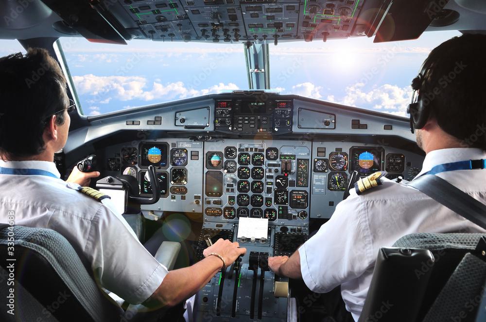 Fotografie, Obraz pilotes d'avion