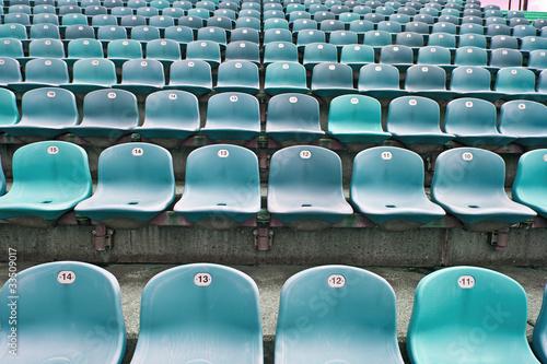 In de dag Stadion Sitze im Fußballstadion 4