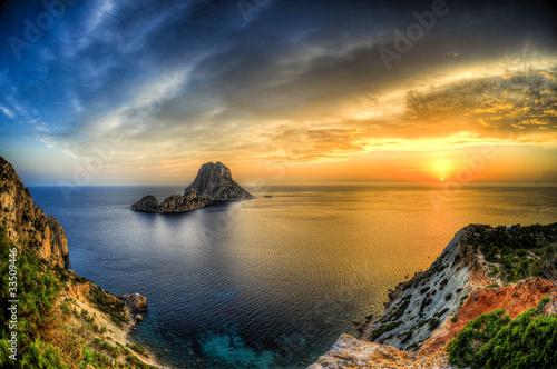 Isla de es vedra en cala D hort - Ibiza