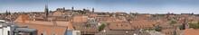 Nürnberg Altstadt Silhouette Panorama