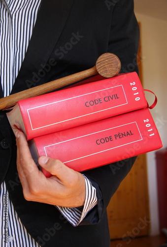Photo  code et justice
