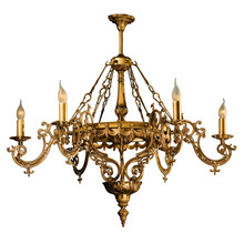 Chandelier In Vintage Style Is...