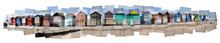 Collage Of Beach Huts At Hamworthy