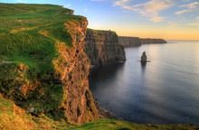 Cliffs Of Moher At Sunset - Ir...
