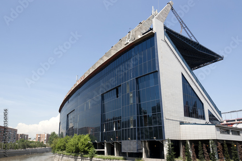Canvas Prints Stadion Vicente Calderon Stadium - Madrid