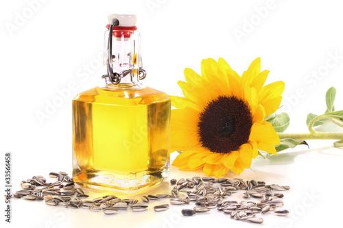 Fototapeta Sonnenblumenöl obraz