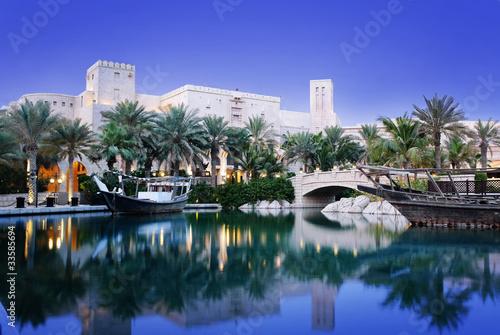 Photo  Madinat Jumeirah in Dubai