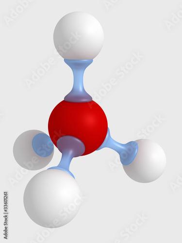 модель молекулы Wall mural