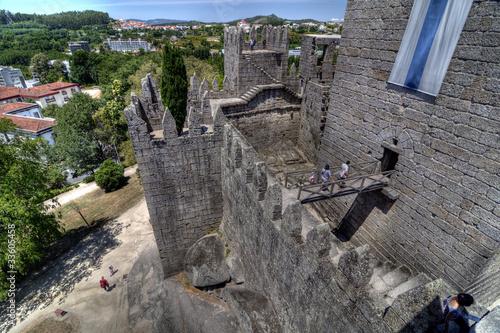 Photo  Guimarães Castle, Portugal.