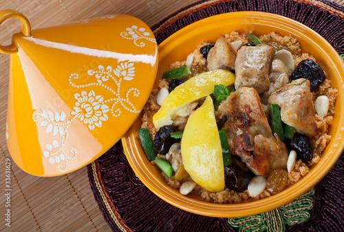 Poster Maroc Tajine di pollo