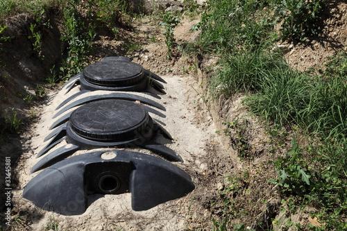 Fényképezés  Sewage Septic Tank Domestic