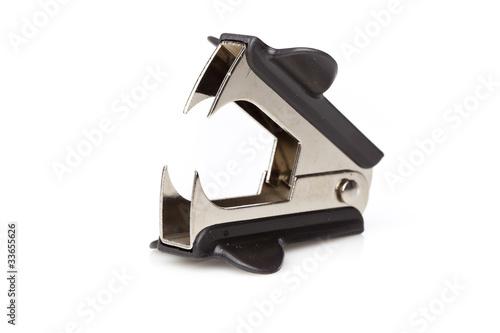 Fotografie, Obraz  A black staple remover