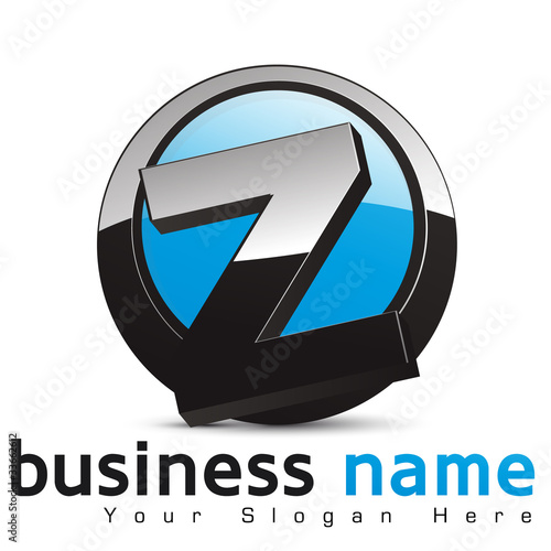 Photo  logo business design, lettre Z