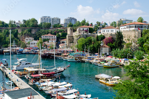 Photo Turkish harbour Antalya