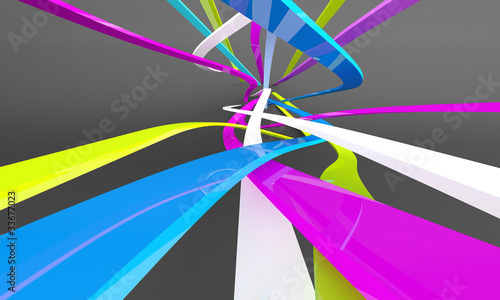 Valokuva  Abstract 3d
