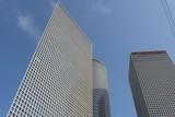 Business skycrapers, down town, Tel-aviv, Israel