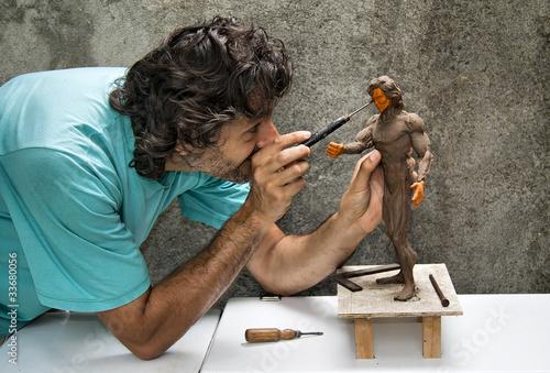 Carta da parati sculptor