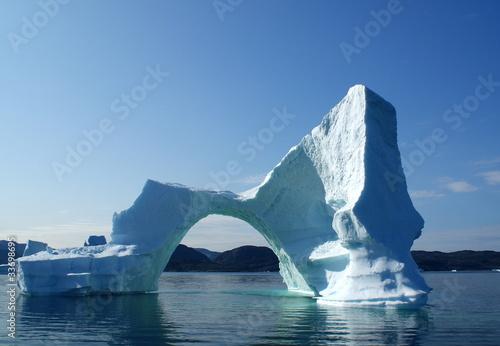 Papiers peints Arctique Eisberg