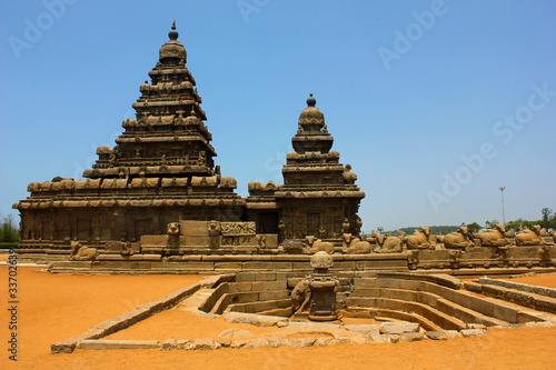 Fotografie, Obraz  Mamallapuram,  shore temple,India