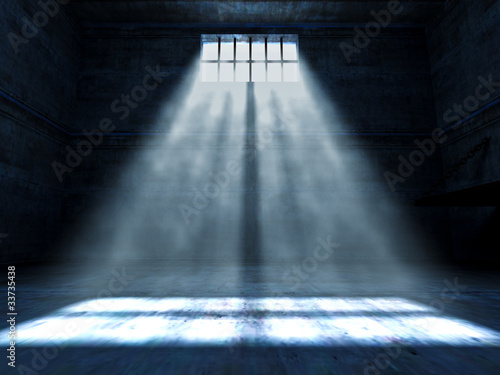 jail indoor Canvas Print