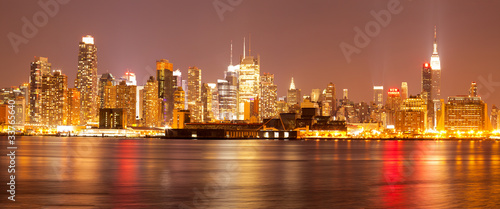 New York City Skyline from New Jersey