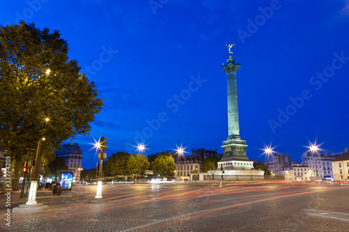 Place de la Bastille Canvas Print