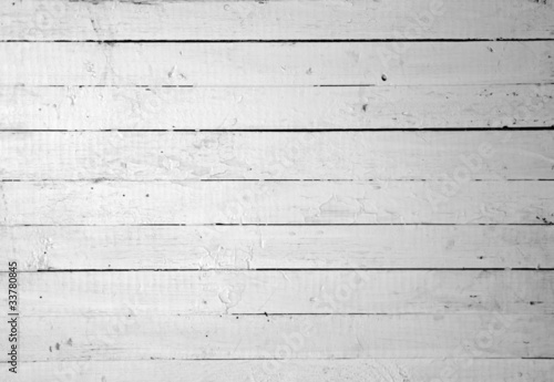 Poster Bois Weathered white wood