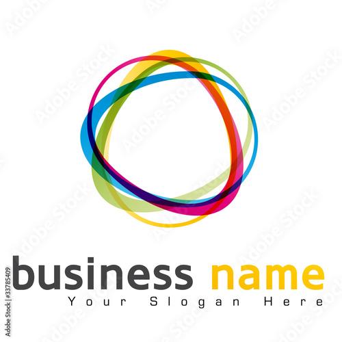 Fotografie, Obraz  logo business design