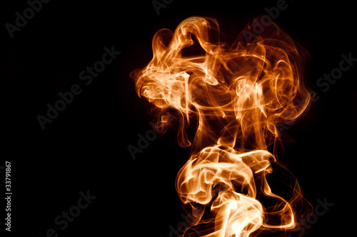 Fotografie, Obraz  Abstract Smoke