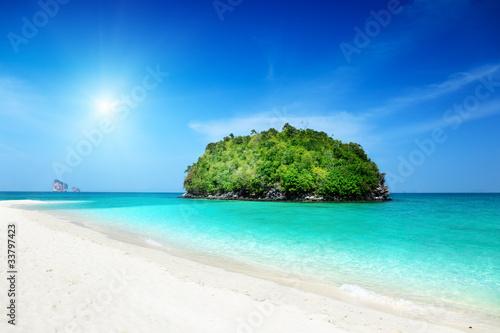 Fototapeta tropical island in Thailand