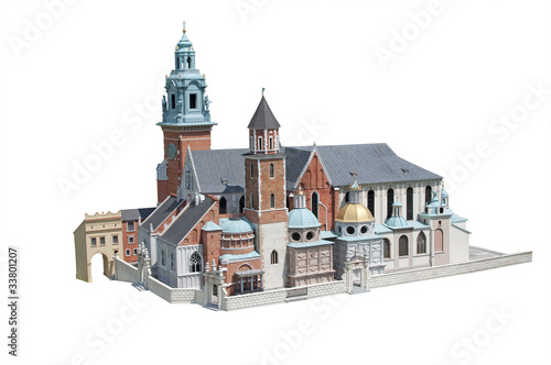Royal Wawel Castle in Crakow - Poland  miniature #33801207