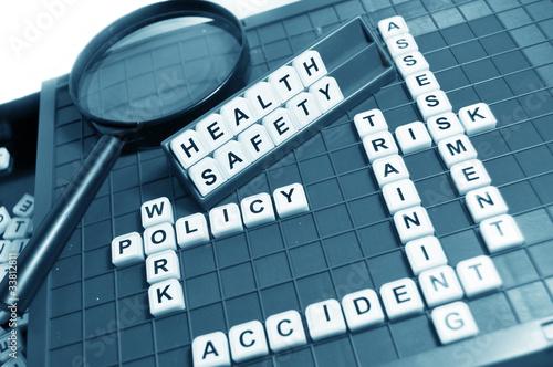 Carta da parati Health and safety