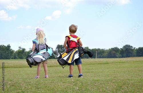Poster Golf Little Golfers