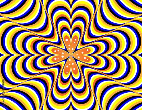 Poster Psychedelique Vertigo-go