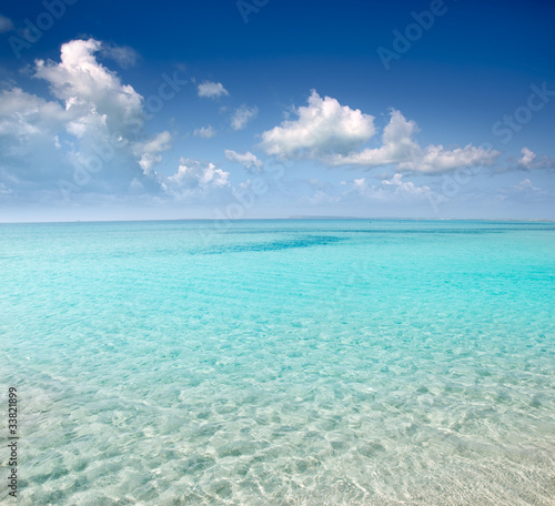 Foto op Plexiglas Caraïben beach perfect white sand turquoise water