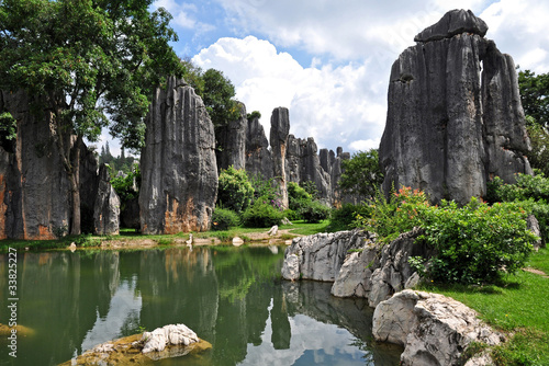 Foto op Plexiglas China Shilin - Stone Forest