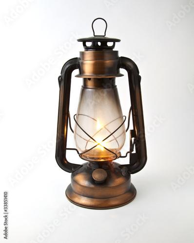 Fotografie, Obraz  Oil Lamp