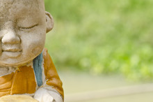 Little Monk Statue