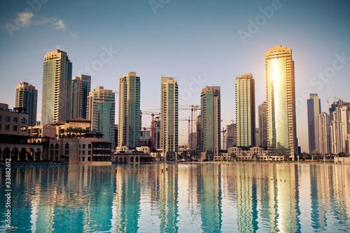 Fotobehang Dubai Dubaï ville