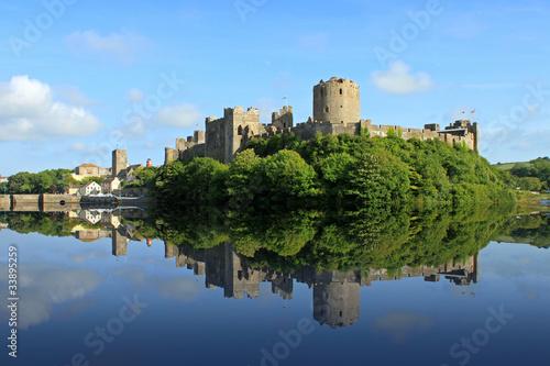 Foto op Plexiglas Kasteel Pembroke Castle